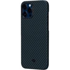 Чехол Pitaka для iPhone 12 Pro Max, кевлар, сине-черный