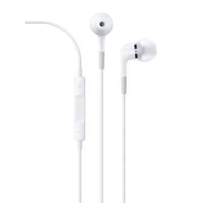 Наушники-вкладыши Apple с пультом дистанционного управления и микрофоном