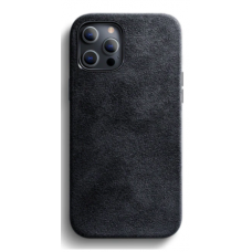 Чехол на iPhone 12/12 Pro ( Алькантара )