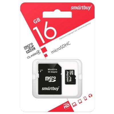 Карта памяти SmartBuy MicroSD 32Гб
