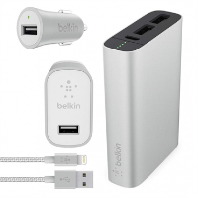 MIXIT↑ Metallic Colormatch Charge Kit + Cable, 6600mAh