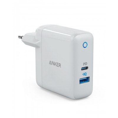 USB C Charger, Anker PowerPort Speed + Duo Wall Charger