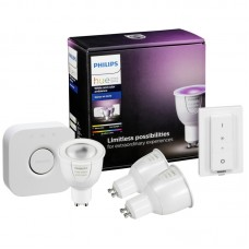 Комплект умных ламп Philips Hue White and Color Ambiance GU10 Starter Kit