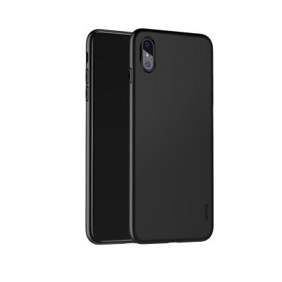 Чехол чёрный TPU для любой модели iPhone