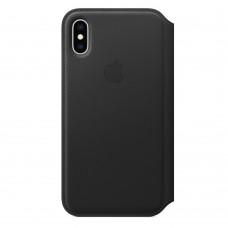 Кожаный чехол для iPhone X/XS Folio в ассортименте