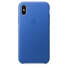 Кожаный чехол для iPhone X/XS в ассортименте