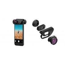 Объектив Olloclip Active Lens для iPhone 7/7 Plus черный