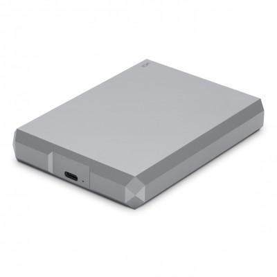 Портативный внешний жёсткий диск LaCie Mobile Drive ёмкостью 4 ТБ с подключением к разъёмам USB‑C, USB 3.0