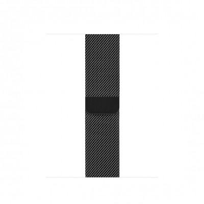 Миланский сетчатый браслет цвета «чёрный космос» (для корпуса 42-44 мм)