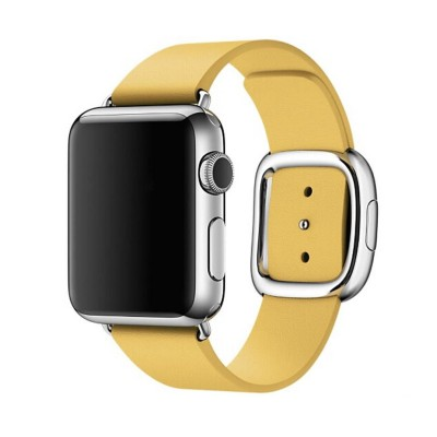 Ремешок Apple Modern Buckie Yellow 40mm (no box)
