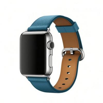 Ремешок Apple Classics Buckle Marine Blue 44mm (no box)