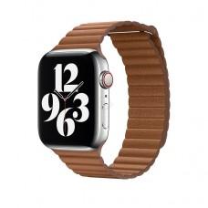 Ремешок Apple Leather Loop Brown 44mm